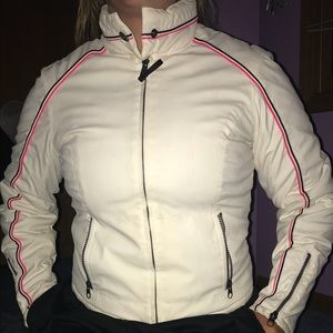 White winter coat
